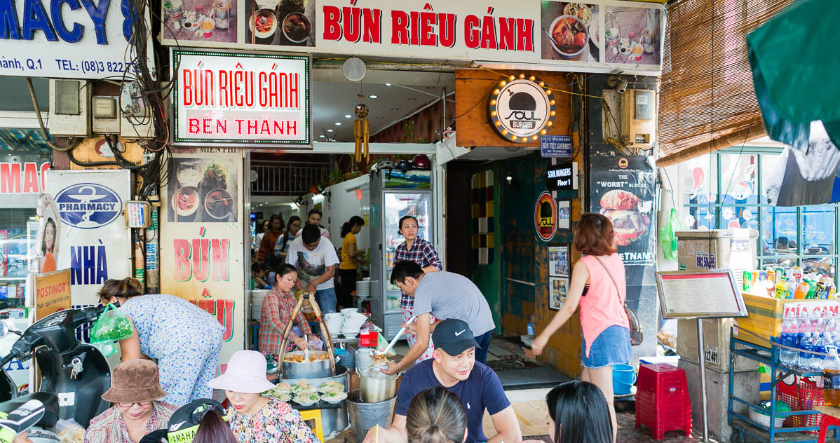 The Unapologetic Simplicity of Ben Thanh's Bun Rieu Ganh