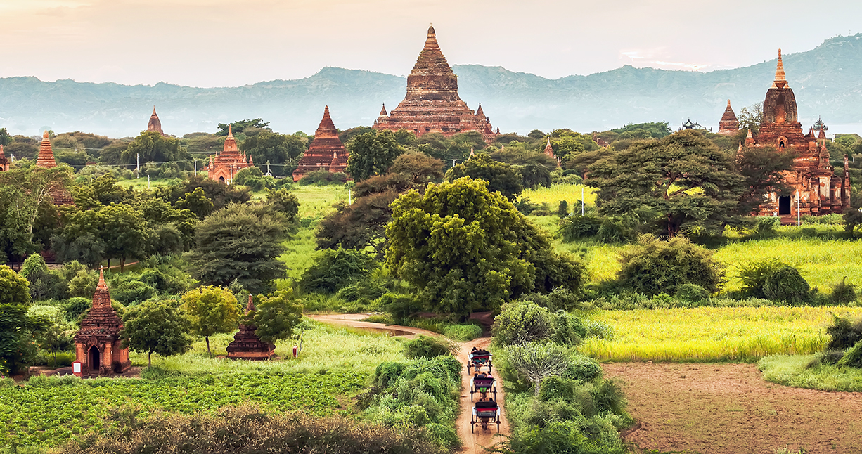 Weekend in Bagan (from Saigon)