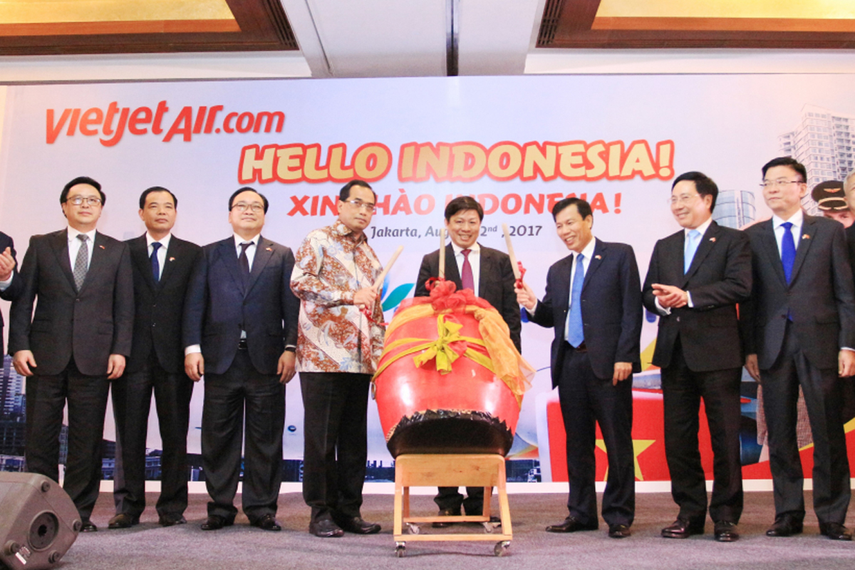 Vietjet to launch Saigon - Jakarta route this December