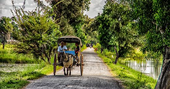 Myanmar rural life