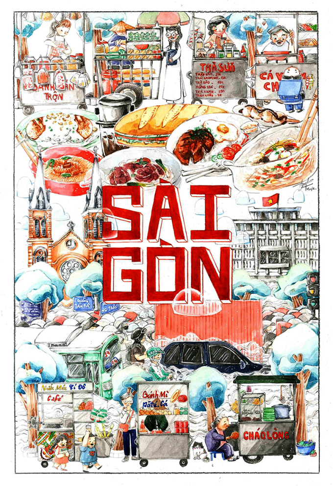 """Saigon"" by Le Huynh My, 25 years old"