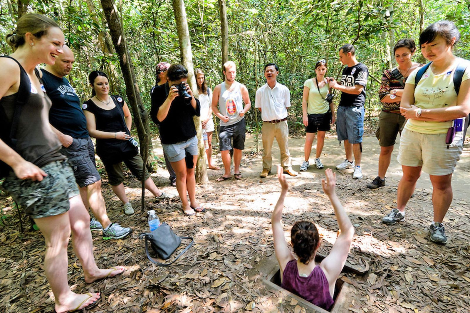 CU CHI TUNNELS by land